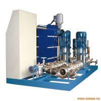 山东康鲁换热机组的压力和振动反应