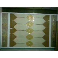 焕彩装饰玻璃镜 艺术镜 古铜色背景墙 金茶色镜子 异形拼镜