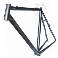 钛合金管,定制钛自行车架,比强度高钛合金车架,银灰色光泽