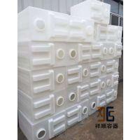 190升立式方形水箱/190L设备箱/190公斤净水器塑料罐