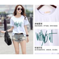 便宜处理清仓女装短袖尾货韩版便宜女装几块钱一件女T恤批发修身特价女T恤