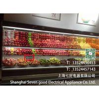 浙江百果园水果保鲜柜 火腿热狗冷藏展示柜 定做酸奶柜七好厂家