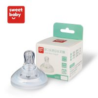 厂家直销 新款宽口径奶瓶婴儿硅胶喂养奶嘴 母乳实感奶嘴头