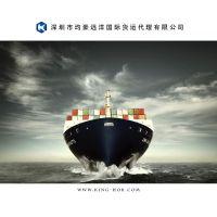 专业深圳广州至东南亚国际海运散货拼箱 送货到门国际海运服务