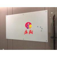 广州办公室玻璃白板3不锈钢带脚看板W学校白板教室用