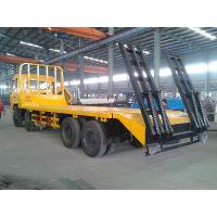 336挖掘机平板运输车卖价