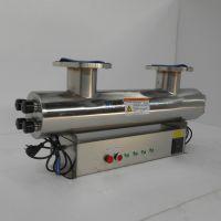 厂家直销天津农改水紫外线消毒器800W 法兰DN200