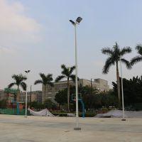 越秀区10米高杆灯的照明范围 室外篮球场照明设计 球场灯光工程