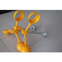 ABS材质电力线路风力反光驱鸟器 风车驱鸟器绝缘杆安装方法