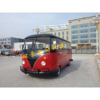 固定式小吃车流动早餐车多功能快餐车