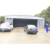 杭州滨湖区直销固定雨棚布不可收缩移动帐蓬推拉遮阳篷质量保障