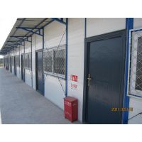 山西大同活动房厂家 拆装工地用岩棉板彩钢房 祈虹彩钢板房