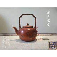 北京茶具铜壶加工定做铸造铜壶手工铜壶铸铁壶银壶茶艺壶