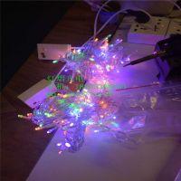 LED灯 圣诞彩色灯串 节日造型灯 婚房布置星星灯 厂家批发