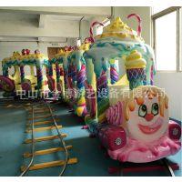 儿童游乐设备厂家现货供应轨道小火车 糖果大火车 观光小火车