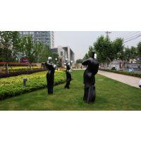 佛山名图推出仿铜人物雕塑玻璃钢广场人体雕塑制品图片