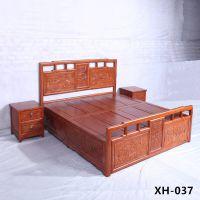 孟村古典中式老榆木客厅成套家具定制厂家