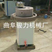 电动石磨豆浆机 电动芝麻酱机 加工麻汁石磨机 骏力热销