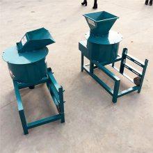 单相电饲料打浆机 小型青草粉碎机 秸秆牧草打浆机