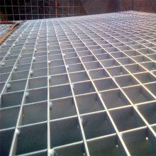 停车场平台格栅 专业生产Q235钢格板 镀锌平台钢格板