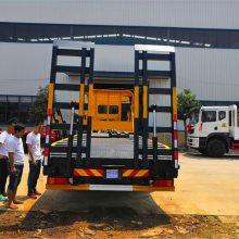 江淮小三轴挖机拖车价格多少钱2.0L排量