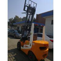 供应新款二手TCM3吨4米柴油叉车 自动档