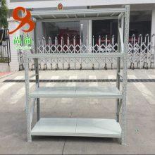 全组装式结构,随意组合,安装、拆卸方便灵活的组合式中型货架