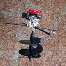 四川省新款加长钻头打坑机 启航牌栽柿子树的挖坑机 动力强劲的硬土专用刨坑机厂家