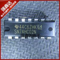 供应 进口原装 直插 SN74HC02N 74HC02 2输入端四或非门 DIP-14 全新
