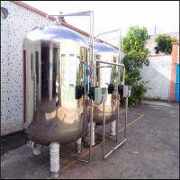 清又清高度1500㎜石英砂锰砂机械过滤器南海区介质山泉水过滤机