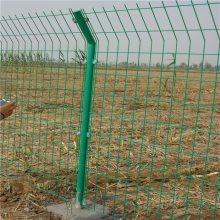 山林散养鸡防护网@养殖隔离栅批发@双边丝护栏网坚固耐用