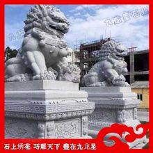 花岗岩北京狮 精品石雕狮子现货 故宫石狮子