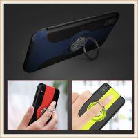 篮球指环扣支架 iphonex 手机壳纯多色磨砂苹果x手机保护套 厂家直销