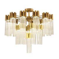 大名城供应新古典欧式水晶玻璃棒吸顶灯 后现代创意简约酒店客厅艺术灯饰