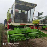 养殖饲料青贮收获机 多功能玉米秸秆青储机 切碎均匀动力小