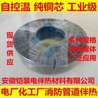 安徽铠装电伴热材料 DWL电伴热带防爆 加热电缆恒温 可调控电加热