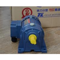 厦门东历电机PL28-0750-60S3B三相异步电动机4级立式刹车减速电机YS750W-4P