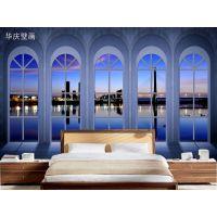 3d欧式卧室无缝墙纸墙布壁画客厅电视沙发背景墙布壁纸影视墙画
