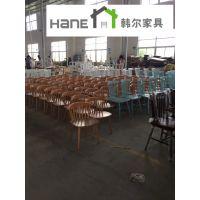 上海市连锁中餐厅餐桌椅,连锁快餐厅连体餐桌椅批发
