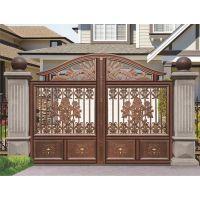 金爵仕铝艺铝合金庭院防盗大门的优点显著