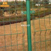 鑫筑丝网 公路护栏网 双边丝护栏厂家 河北双边护栏网生产厂家