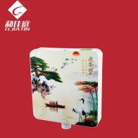 广东和佳庭3-6L手按式3D蹲便器水箱厂家批发
