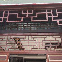 铝合金窗花装饰材料 寺庙仿古铝窗花