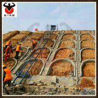 猛士 水泥石块边坡斜坡送料机 建筑工程用爬山虎上料机