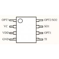 LED无极触摸灯调光IC 8022 SOP8