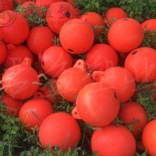温州直径40 50 60 80cm 串联浮球 PE塑料浮球浮标