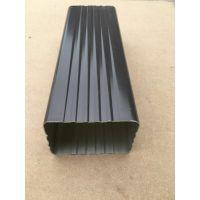 平度铝合金方形雨水管厂家 经销铝合金檐沟 水槽价格
