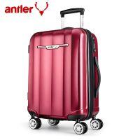 antler/安特丽旅行箱万向轮行李箱20寸时尚PC密码拉杆箱扩展24寸