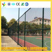 专业体育场护栏网,PVC学校篮球场围网,足球场围网厂家热销中,规格齐全