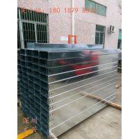 【深圳文兴】品牌 50*50镀锌线槽 防火电缆桥架 槽式线槽 镀锌材质
